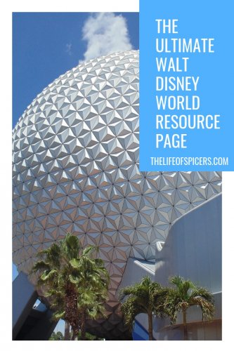 disney world resource page