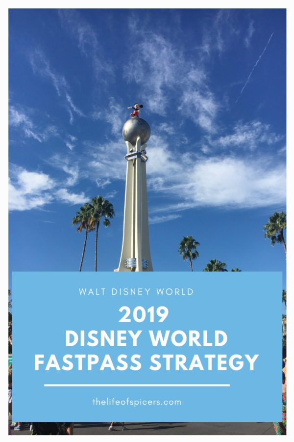 Disney World Fastpass Strategy