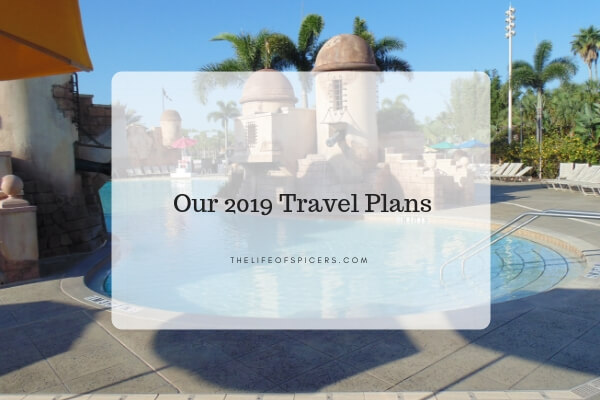 Our 2019 Travel Plans
