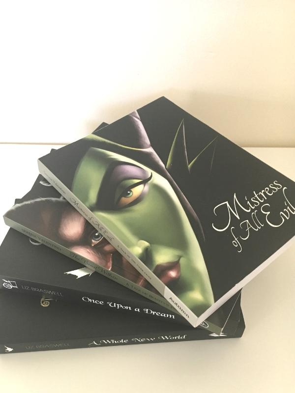 disney villains books