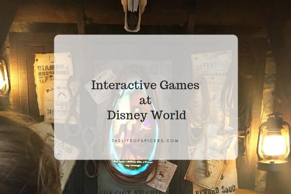 interactive games at Disney World