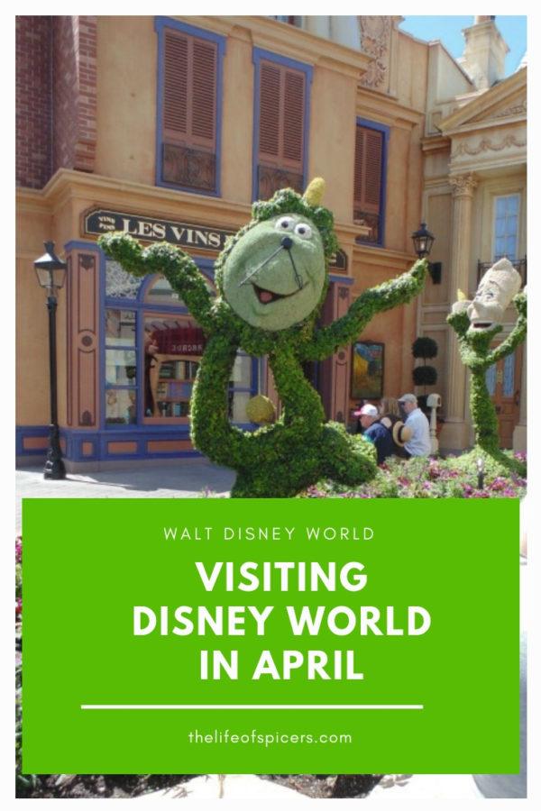 Disney World in April
