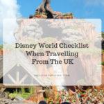 disney world checklist