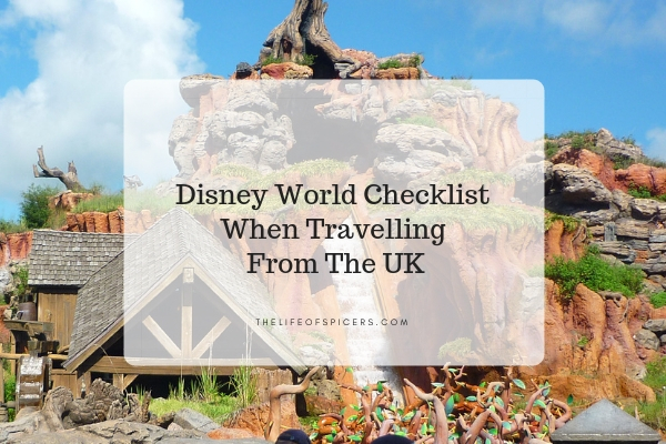 disney world checklist