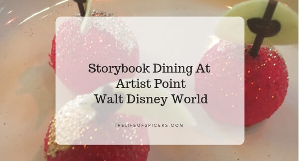 storybook dining at Artist Point