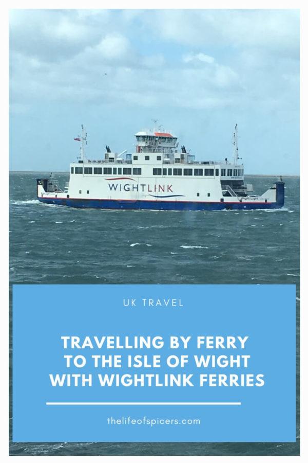 wightlink ferries to isle of wight