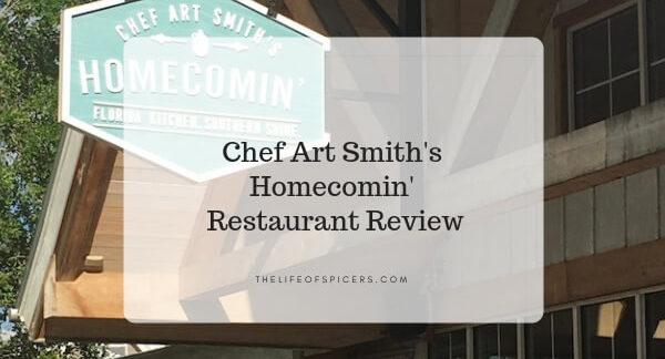 Chef Art Smith's Homecomin' restaurant disney springs