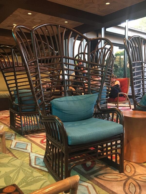 ohana restaurant waiting area