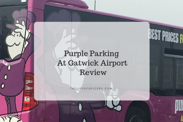 purple parking Gatwick airport