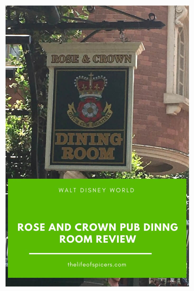 rose and crown dining review