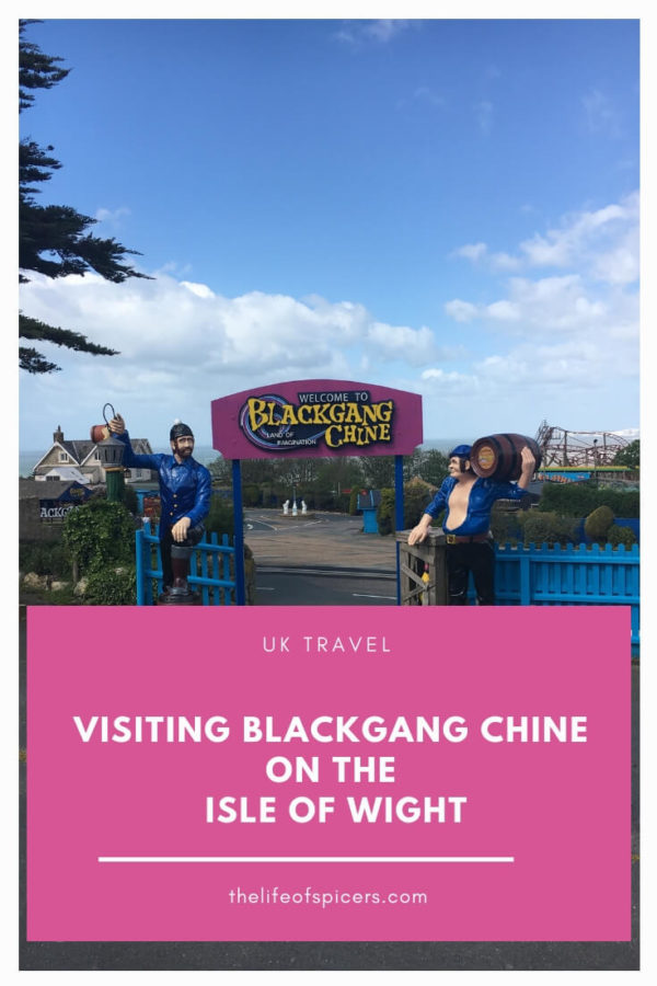 visiting Blackgang Chine