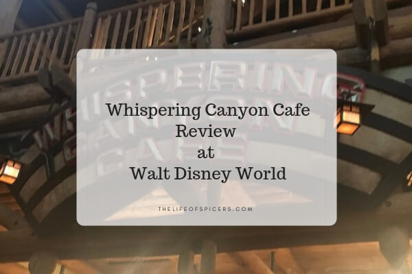 whispering canyon cafe review