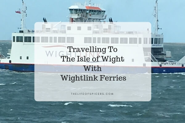 Wightlink Ferries To The Isle Of Wight