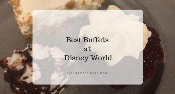 best buffets at disney world
