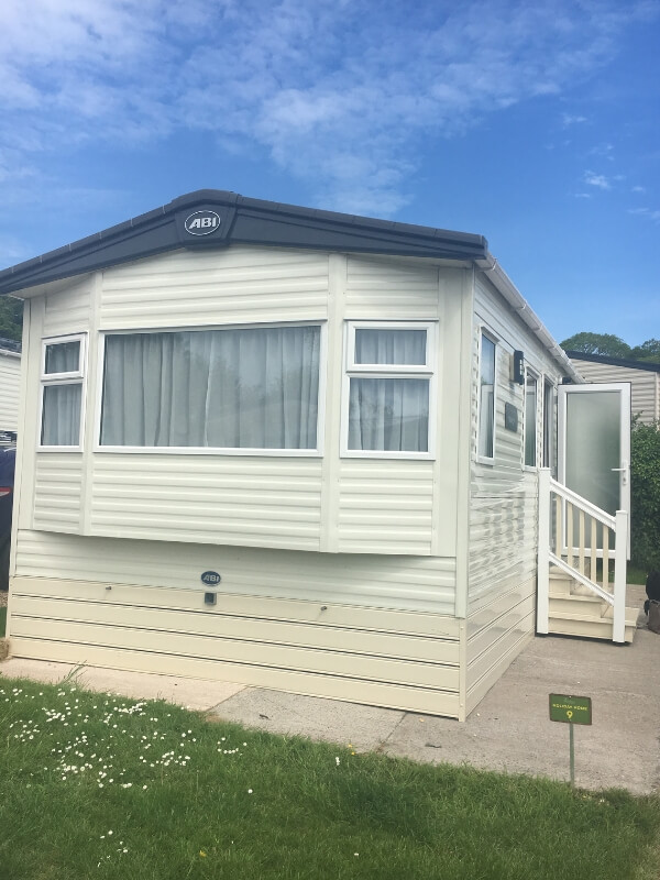 Bucklegrove Holiday Park caravan