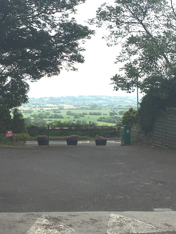 view from Bucklegrove Holiday Park