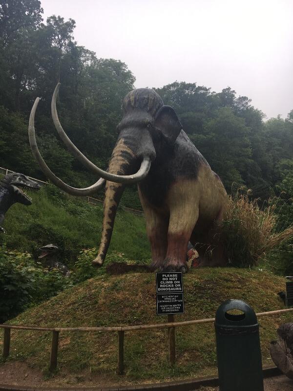 Mammoth at Wookey Hole