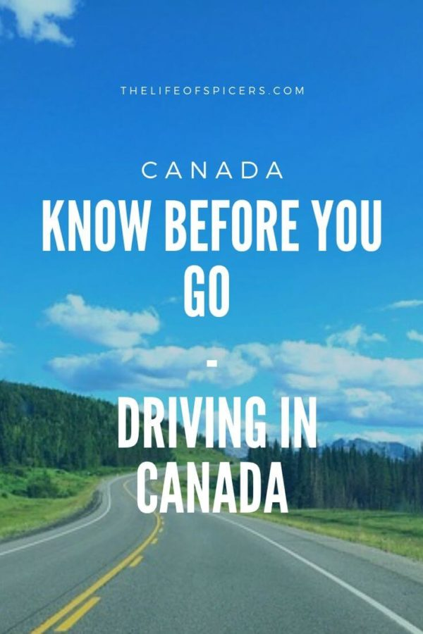 Driving in Canada