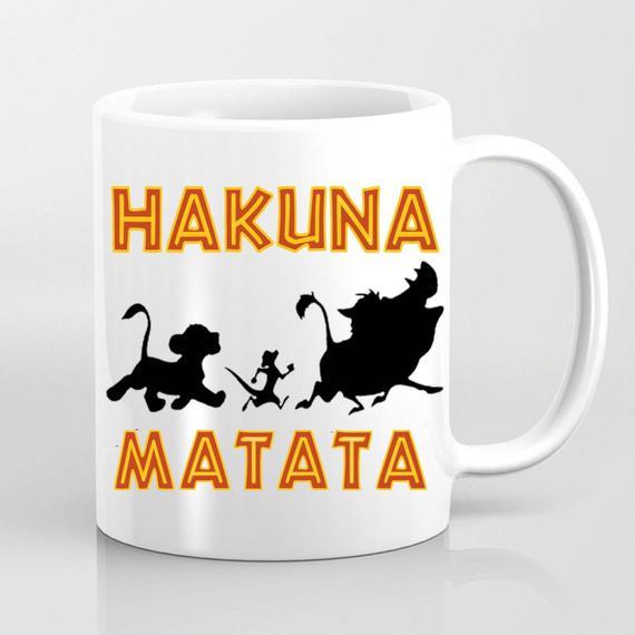 Hakuna Matata The Lion King Disney Inspired Mug