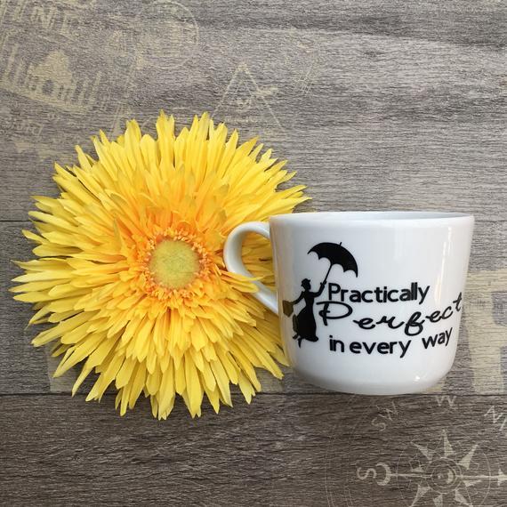 Practically Perfect - Mary Poppins Mug on Etsy
