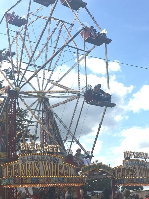Ferris wheel at camp bestival