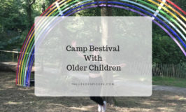 Camp Bestival with older children