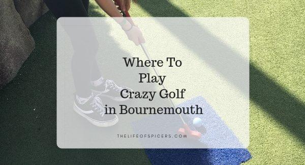 crazy golf bournemouth