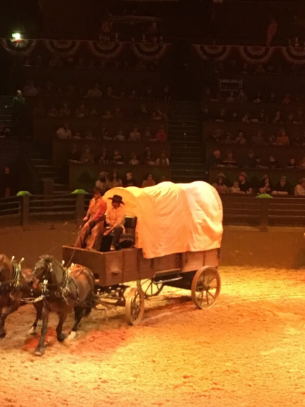 Buffalo Bill's Wild West show Disneyland Paris