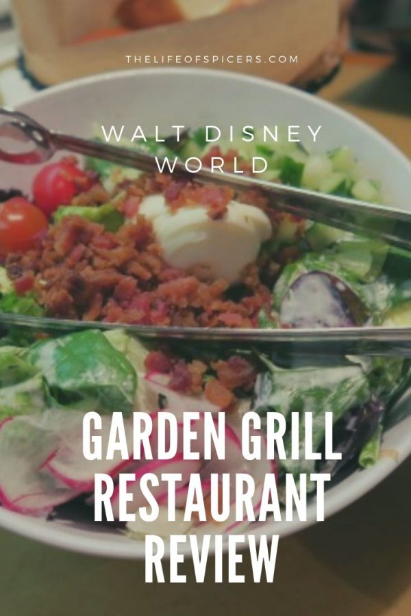 Garden Grill character meal